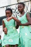 Folk i GHANA Royaltyfria Foton