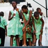 Folk i GHANA Royaltyfri Foto