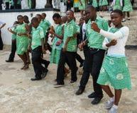 Folk i GHANA Royaltyfri Bild