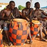 Folk i GHANA Arkivbilder