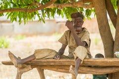 Folk i GHANA Fotografering för Bildbyråer