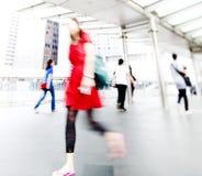 Folk i Hong Kong Concept Arkivfoto