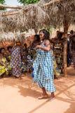Folk i Kara, TOGO Royaltyfri Foto