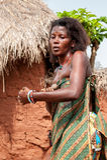Folk i Kara, TOGO Royaltyfri Fotografi