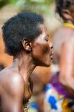 Folk i Kara, TOGO Royaltyfria Foton