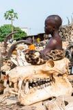 Folk i Kara, TOGO Royaltyfria Bilder