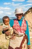 Folk i Madagascar fotografering för bildbyråer