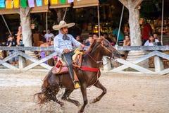 Folk i MEXICO - STAD, MEXICO Royaltyfri Fotografi