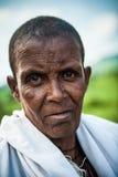 Folk i OMO, ETIOPIEN Royaltyfri Bild