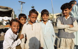 Folk i Pakistan Royaltyfri Fotografi