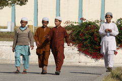 Folk i Pakistan Royaltyfri Bild