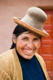 Folk i peru Arkivfoto