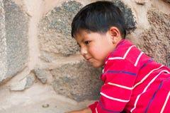 Folk i peru Fotografering för Bildbyråer