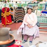 Folk i peru Royaltyfri Foto