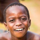 Folk i Togo, Afrika Arkivfoton