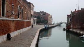 Folk i Venedig lager videofilmer