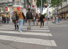 Folk i Wien Royaltyfri Foto