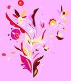 folk illustrationprydnad Royaltyfri Fotografi
