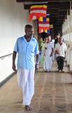 Folk inom templet av tanden Royaltyfria Foton