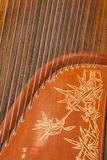 Folk instruments - zither Royalty Free Stock Photos
