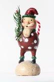Folk jultomten Fotografering för Bildbyråer