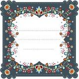 Folk Label Seven Stock Images