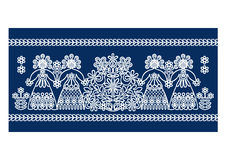 Folk lace patterns Stock Images