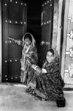 Folk Life in Gujarat Royalty Free Stock Photo