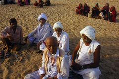 Folk life in Gujarat-India Stock Photos