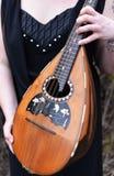 Folk mandolin Fotografering för Bildbyråer