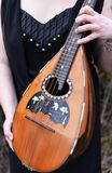 Folk mandolin Stock Image