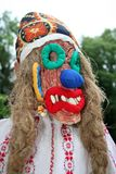 Folk mask Stock Photos