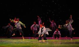 Folk mask dance-The exorcism dance Stock Photography