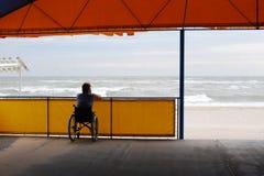 Folk med fysiska handikapp Arkivbilder