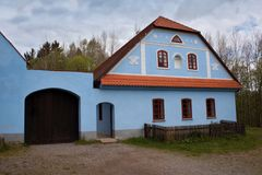 Folk museum Vesely Kopec in Czech Republic Royalty Free Stock Photography