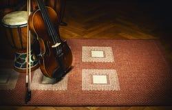 Folk Music Acoustic Instruments Stock Image
