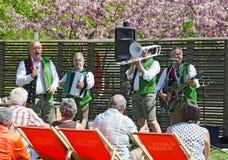 Folk music group `Edlseer` Royalty Free Stock Images