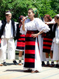 "Folk music group ""Junii Cosăului"" Royalty Free Stock Photo"