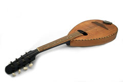 Folk Music Instrument Mandolin. Traditional Turkish Folk Music Instrument Stock Photos