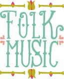 Folk Music Stock Photography