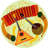 Folk musical instruments Royalty Free Stock Photo
