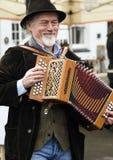 Folk musician Stock Photo