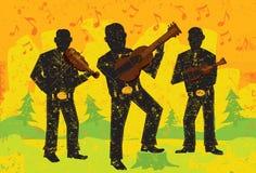 Folk musicians Stock Photos
