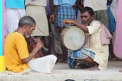 Folk Musicinas royaltyfri fotografi