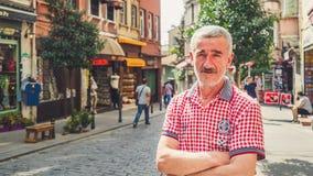 Folk och stad av Istanbul Fotografering för Bildbyråer