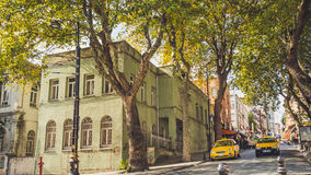 Folk och stad av Istanbul Arkivfoton