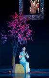 Folk Opera: Acacia. In May 7, 2010, a reflection of Jiangxi original ecological humanities landscape of large style song and dance the wind in Jiangxi Art Stock Image