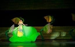 Folk opera: trumpetsnäckaflicka Royaltyfri Bild