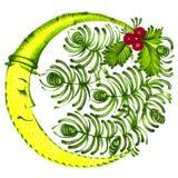 Folk ornament Royalty Free Stock Image