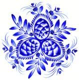 Folk ornament. High resolution, hand drawn illustration in Ukrainian folk style vector illustration